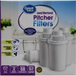 Great Value Gr Val Superior Pitcher Cartridge 4-pk