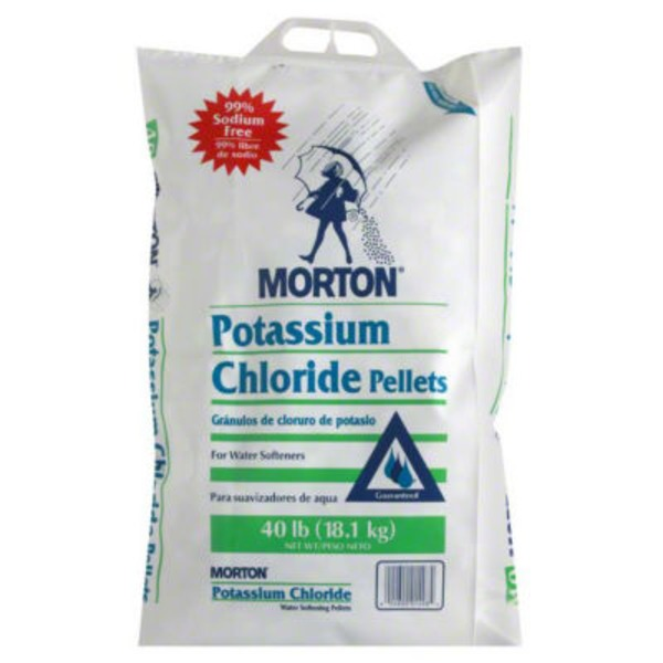 Morton Potassium Chloride Water Softening Pellets