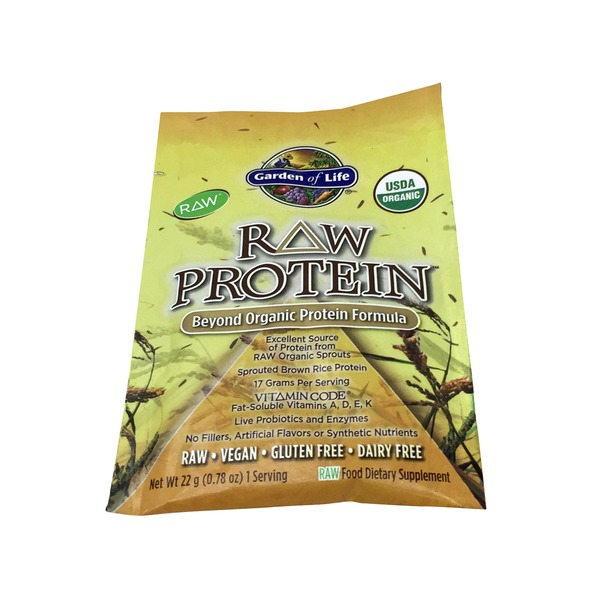 Garden of Life Raw Protein Packet Original
