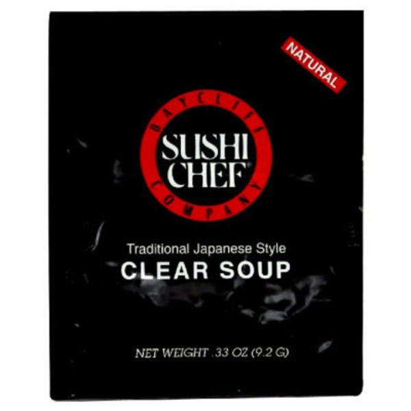 Sushi Chef Baycliff Company Sushi Chef Clear Soup Traditional Japanese Style