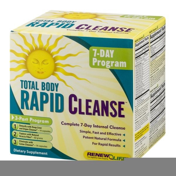 Renew Life Total Body Rapid Cleanse, 7-Day Program