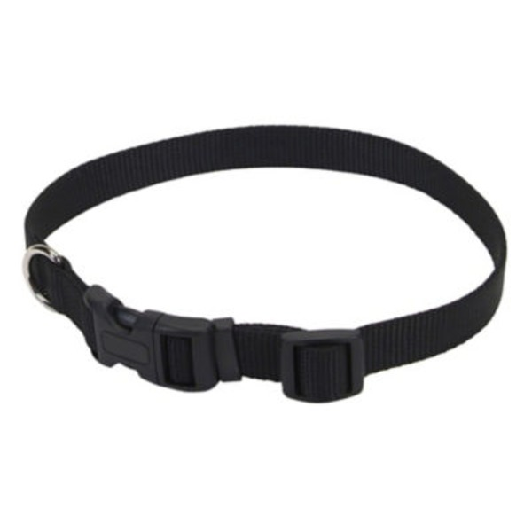 Coastal Pet 10 -14 Inch Black Adjustable Nylon Collar
