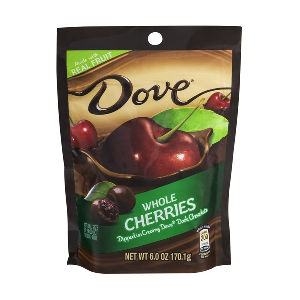 Dove Whole Cherries Dipped in Dark Chocolate