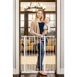 Regalo Extra Tall Baby Gate, 30'-40' with Walk Through Door