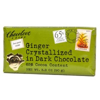 Chocolove Ginger Crystallized in Dark Chocolate
