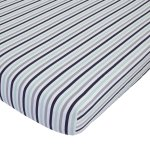Child of Mine Cars crib sheet - stripe