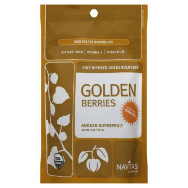 Navitas Naturals Golden Berries, Vine Ripened, Organic