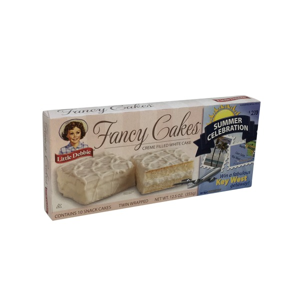 Little Debbie Cream Filled White Fancy Cakes