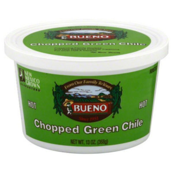 Bueno Hot Chopped Green Chili