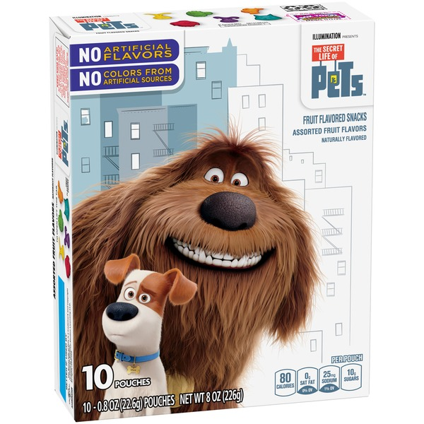 Betty Crocker The Secret Life of Pets Fruit Flavored Snacks