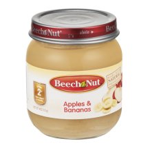 Beech Nut Stage 2 Apples & Bananas, 4.0 OZ