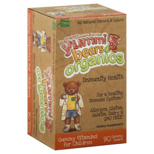 Yummi Bears Immunity Health, Gummy Bears