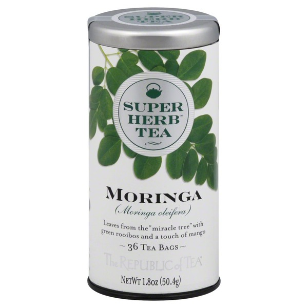 The Republic of Tea Tea Bags, Moringa, Can
