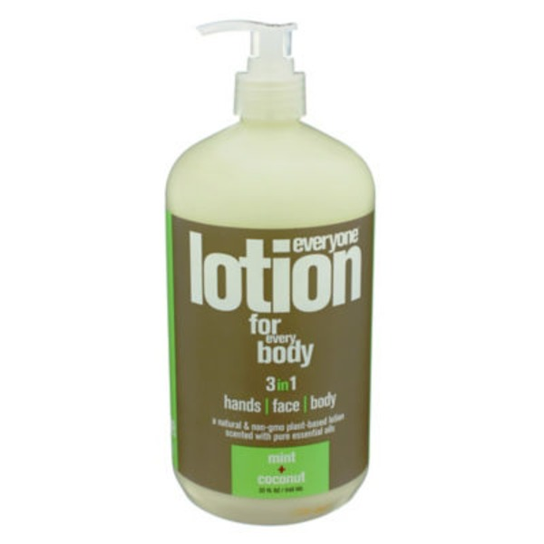 Everyone Lotion for Everybody 3 in 1 Mint And Coconut Lotion
