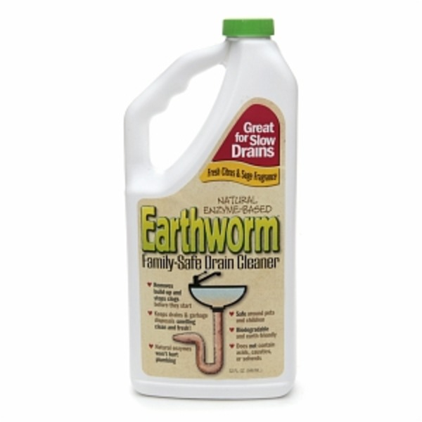 Earthworm Family Safe Drain Cleaner