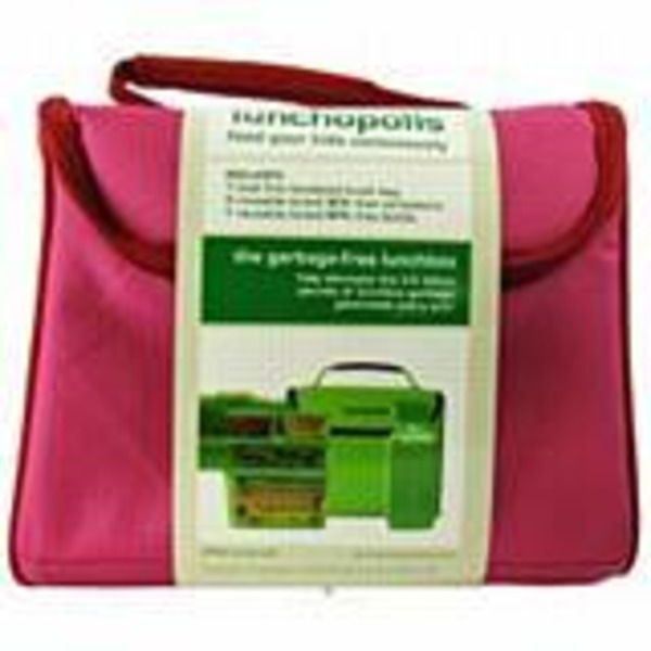 New Wave Enviro Products Lunchopolis Red Pink