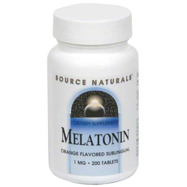 Source Naturals Melatonin Orange 1 mg