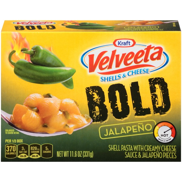 Kraft Velveeta Bold Jalapeno Shells & Cheese