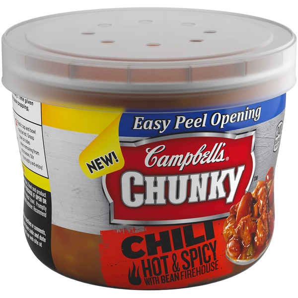 Campbell's Firehouse Hot & Spicy Beef & Bean Chili