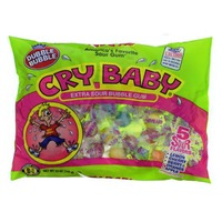 Double Bubble Cry Baby Extra Sour Bubble Gum