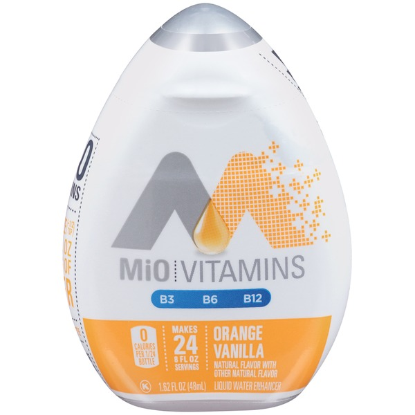 MiO Vitamins Orange Vanilla Liquid Water Enhancer