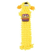 Multipet Floppy Loofa Dog Toy