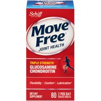 Move Free Joint Health Triple Strength Glucosamine Chondroitin Coated Tablets Dietary Supplement