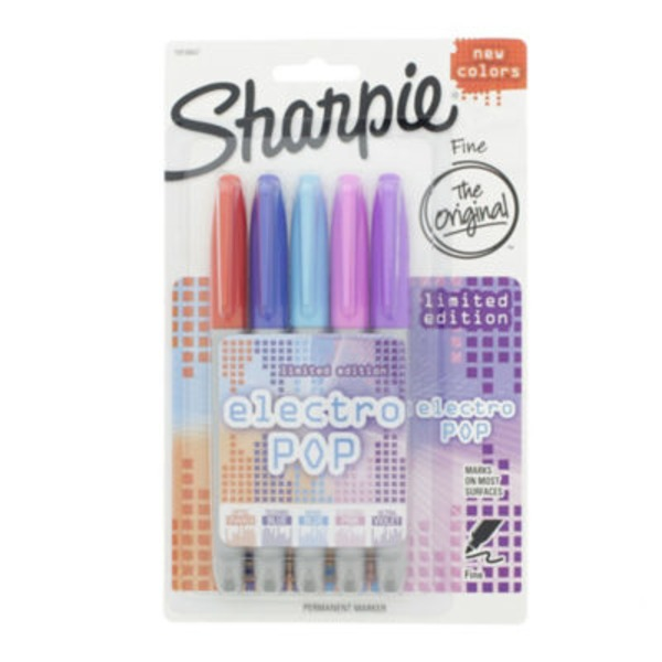 Sharpie Fine Electro Pop Permanent Markers