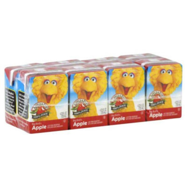Apple & Eve Sesame Street Big Bird's Apple 100% Juice