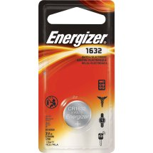 Energizer Lithium Button Cell Battery, CR1632 3V, 1-Pack