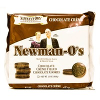 Newman's Own Newman-O's Chocolate Creme Filled Chocolate Cookies
