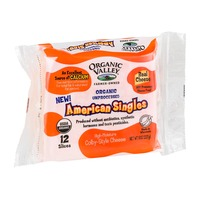 Organic Valley Unprocessed American Singles Cheese