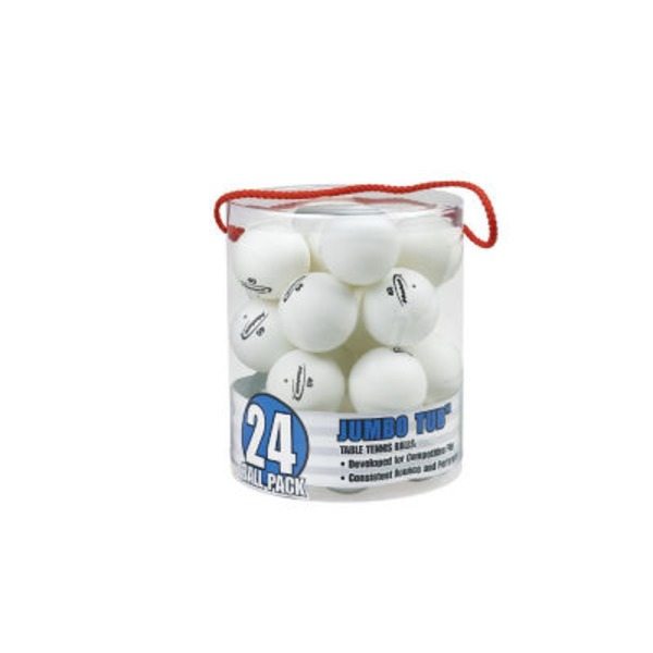 Halex White Table Tennis Balls Jumbo Tub