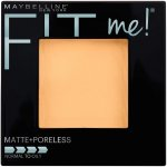 Maybelline New York Fit Me! Matte + Poreless Foundation Powder, Buff Beige