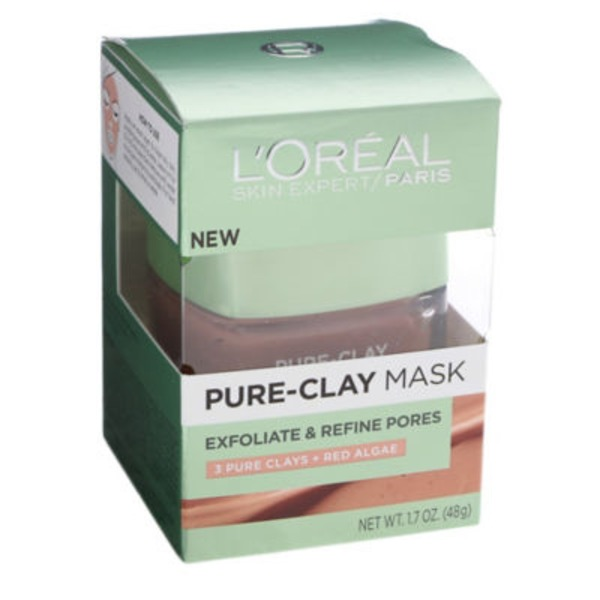 L'Oreal Paris Exfoliate & Refine Pores Pure-Clay Mask