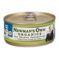 Newman's Own Grain Free Food for Cats Turkey Dinner