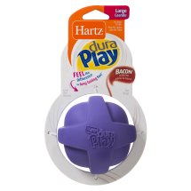 Hartz Dura Play For Dogs Dog Toy, Large, Bacon Scented