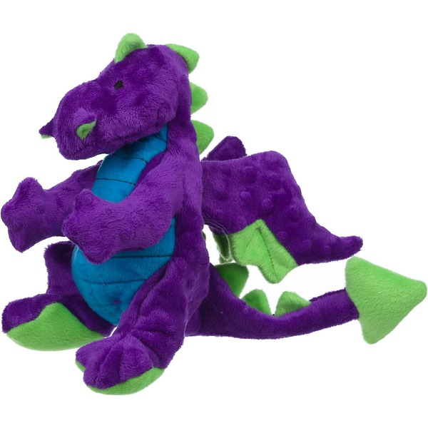 Go Dog Plush Purple Dragon Dog Toy