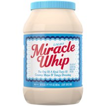 Kraft Miracle Whip Mayo Dressing Light, 30 fl oz Jar