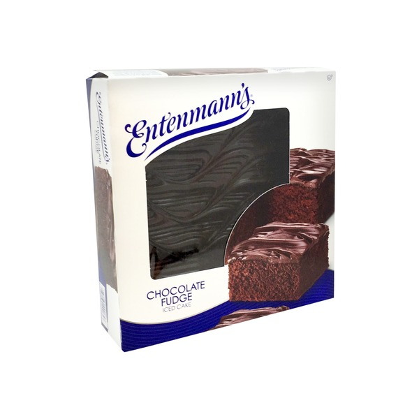 Entenmann's Iced Cake Chocolate Fudge