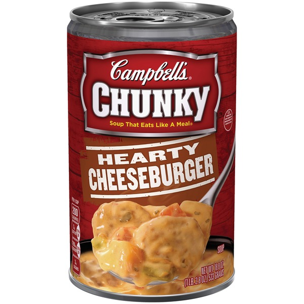 Campbell's Hearty Cheeseburger Soup