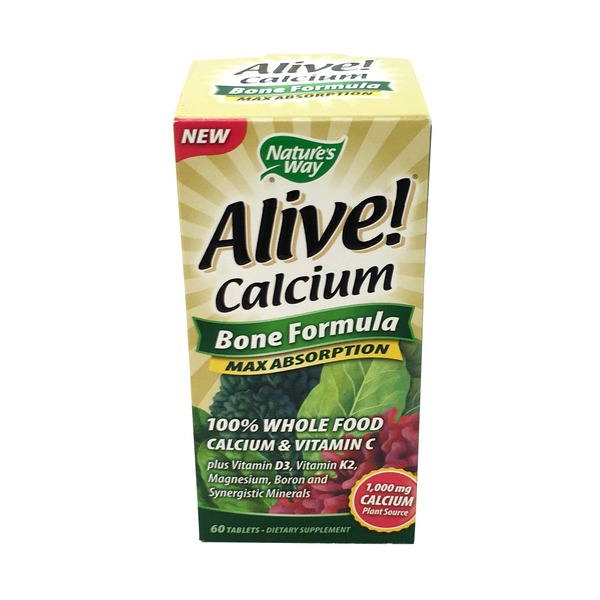 Nature's Way Alive Calcium Max Absorption Bone Formula Tablets