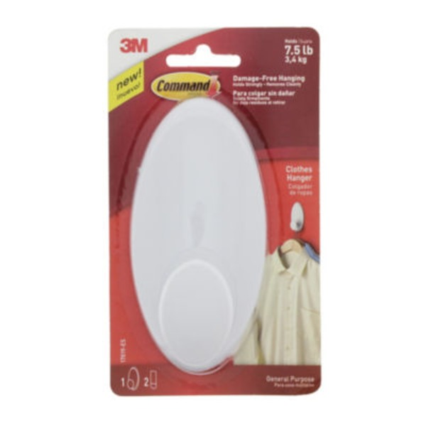 3M Command Brand Clothes Hanger