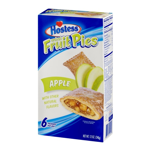 Hostess Mini Fruit Pies Apple - 6 CT