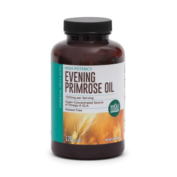 Whole Foods Market Evening Primrose Oil 1250 mg