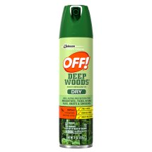 OFF! Deep Woods Dry Insect Repellent, 4 oz