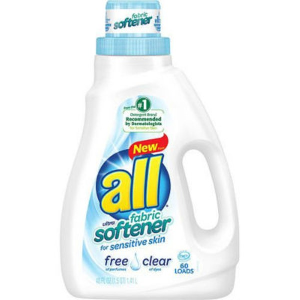 All Free Clear Ultra Fabric Softener for Sensitive Skin