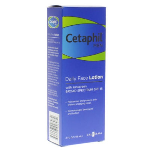 Cetaphil Men Daily with Sunscreen Face Lotion