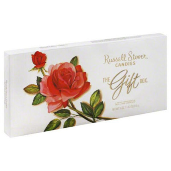 Russell Stover Candies The Gift Box Milk & Dark Chocolates