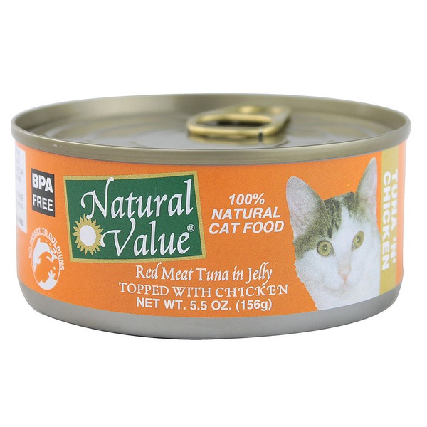 Natural Value Chicken Tuna Cat Food